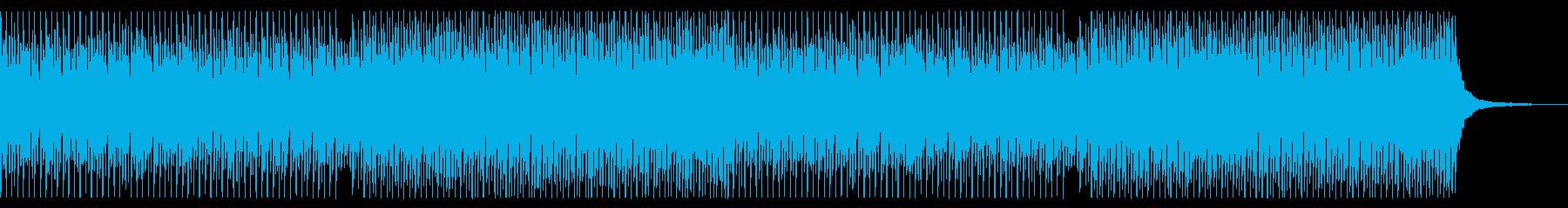 企業VP・CM 青空 ポジティブ ピアノの再生済みの波形