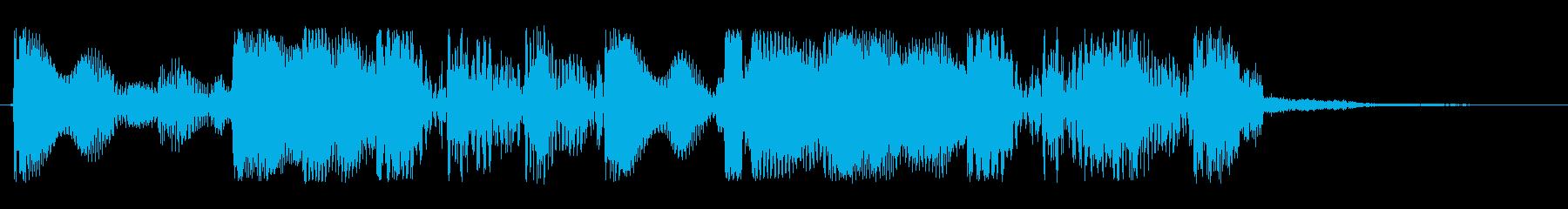 都市的 ジャズの再生済みの波形