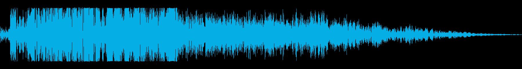 パンチを受け止めるの再生済みの波形