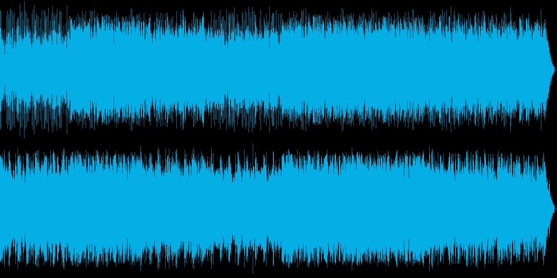SFチックな環境音楽の再生済みの波形