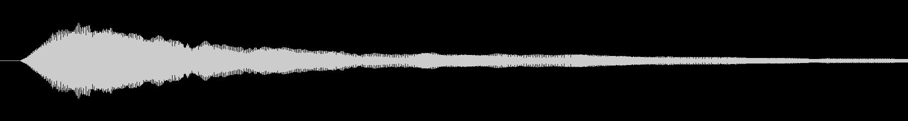 疾走感のあるミステリアスなエスニック の未再生の波形