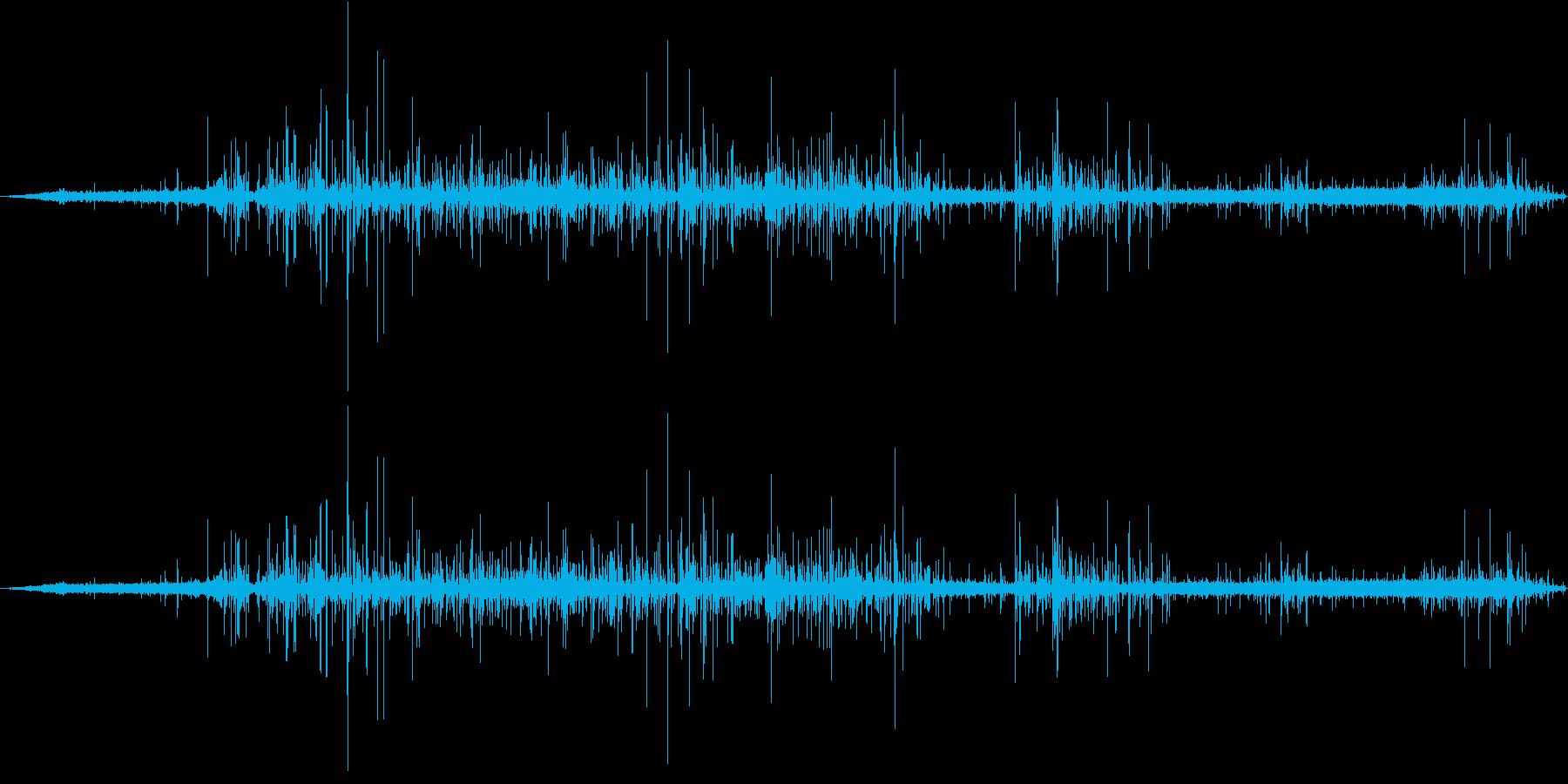 レストランエスプレッソマシン:遅い...の再生済みの波形