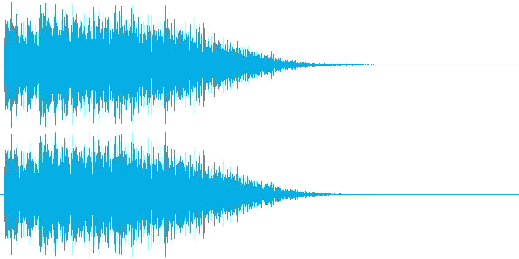 SFビームや魔法攻撃の発射音の再生済みの波形