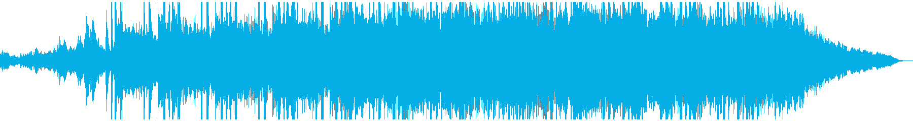 ドラマティックで幻想的な音楽の再生済みの波形