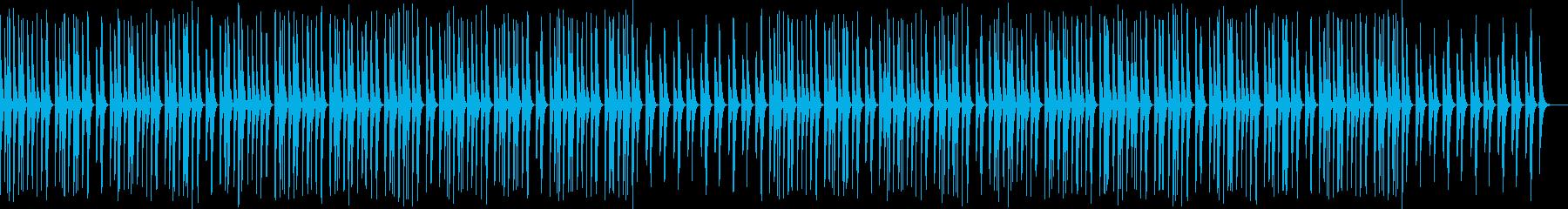 マリンバ・かわいい・ほのぼの、帰り道の再生済みの波形