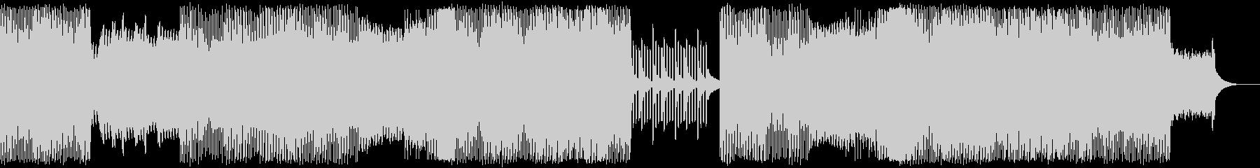 前向きでエモーショナルなピアノエレクトロの未再生の波形