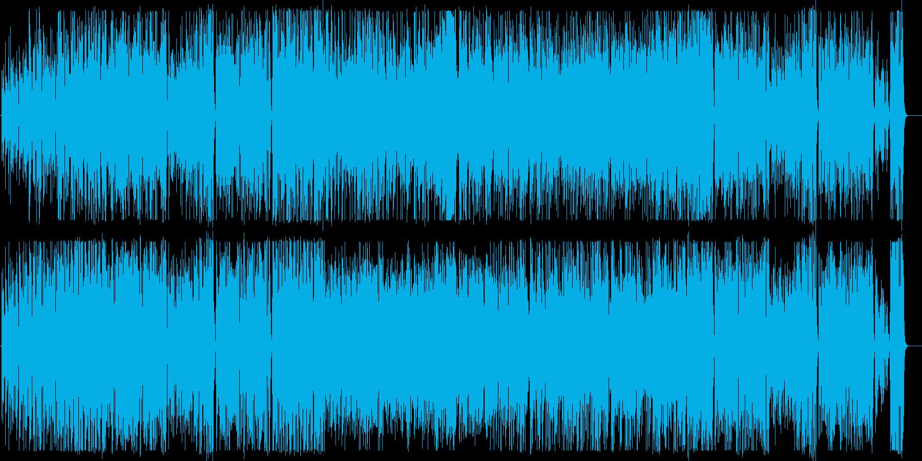 怪しい雰囲気のギターインストの再生済みの波形