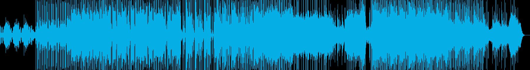 三味線デュオ 和風フュージョンの再生済みの波形
