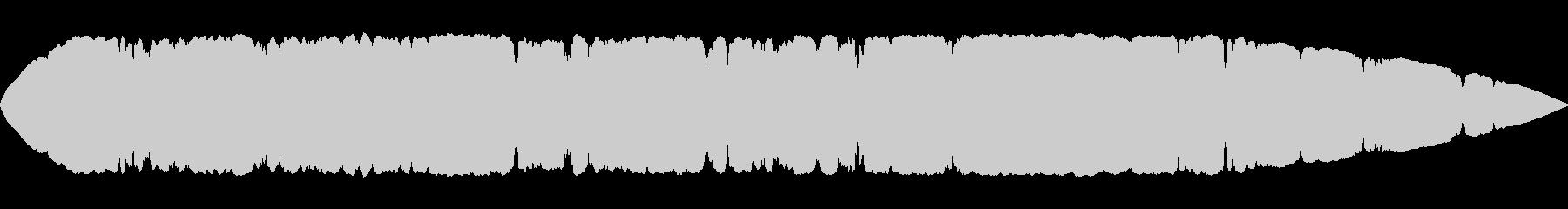 キーン、グルグル(不快な音)の未再生の波形
