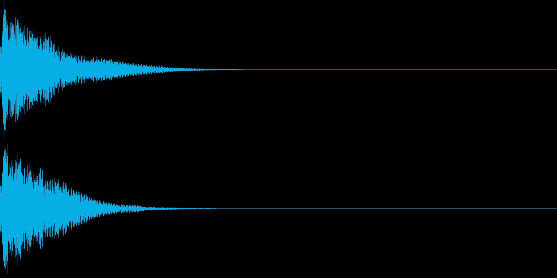 光る  輝く  キュピーン  キラーンFの再生済みの波形