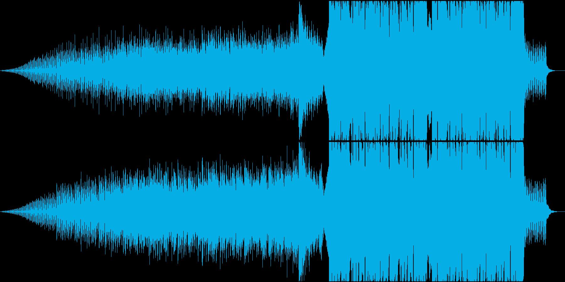 重厚な映像、ゲーム向けトレーラーの再生済みの波形