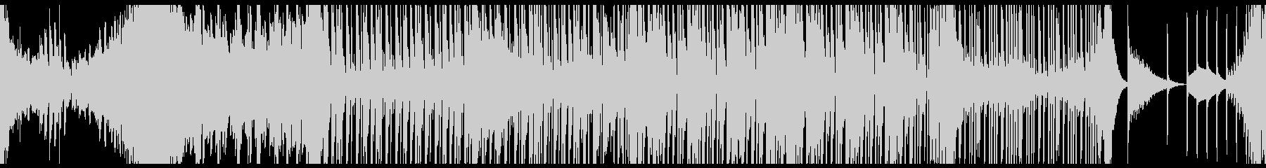 トランス、EDM系のBGMループ音楽の未再生の波形
