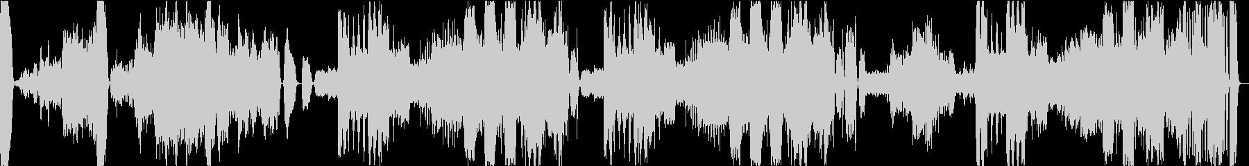 シューベルト交響曲第4番ハ短調「悲観的」の未再生の波形