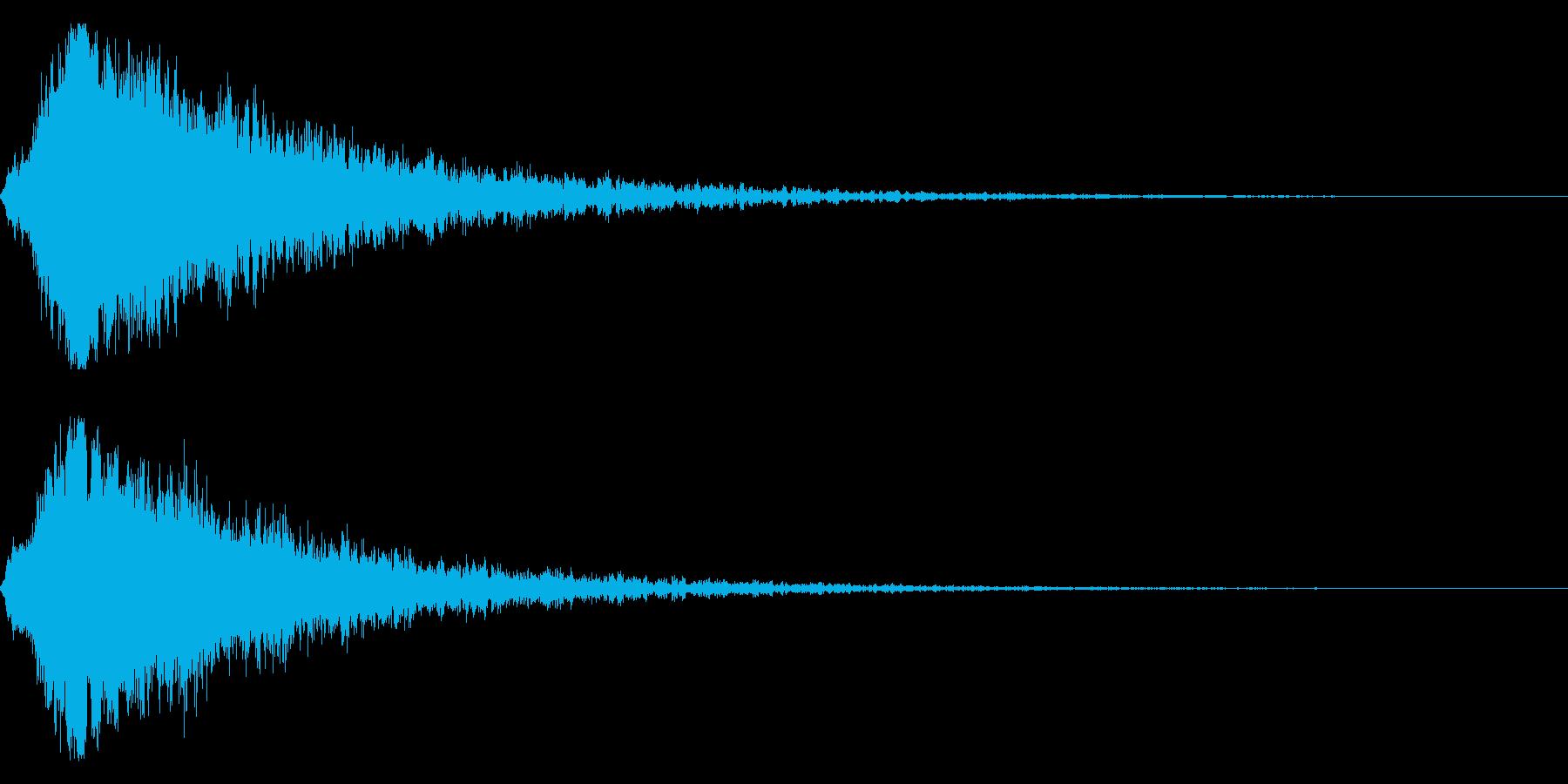 シャキーン キラーン☆強烈な輝き!6bvの再生済みの波形