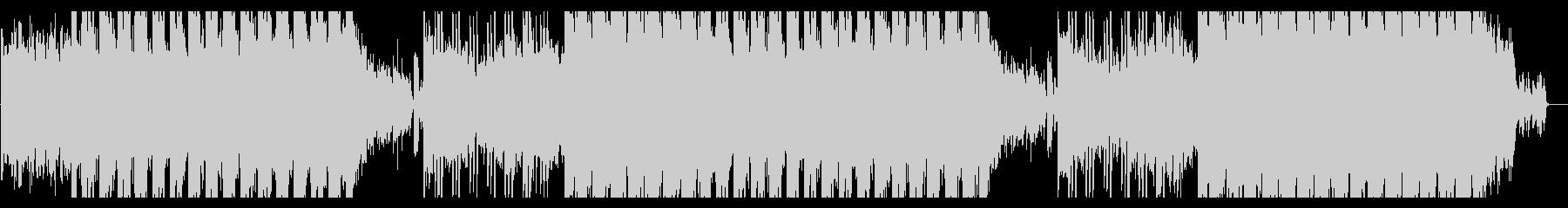 ダークで少し不思議なエレクトロビートの未再生の波形