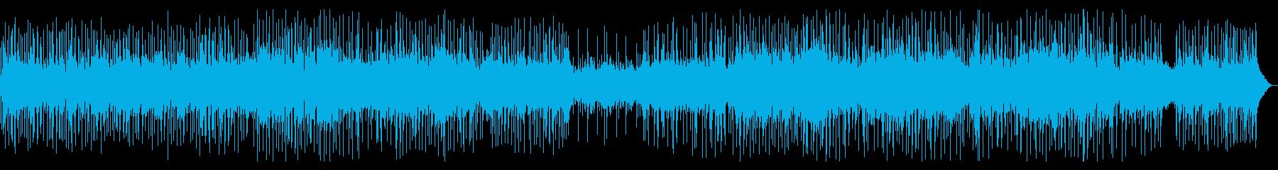 前向きな別れ、女性ボーカルのポップスの再生済みの波形