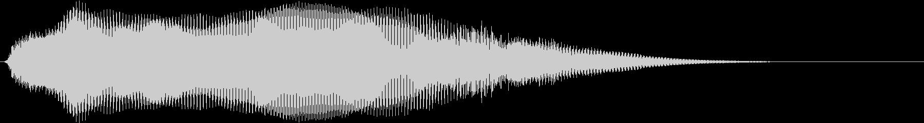ダークな雰囲気_Gの未再生の波形