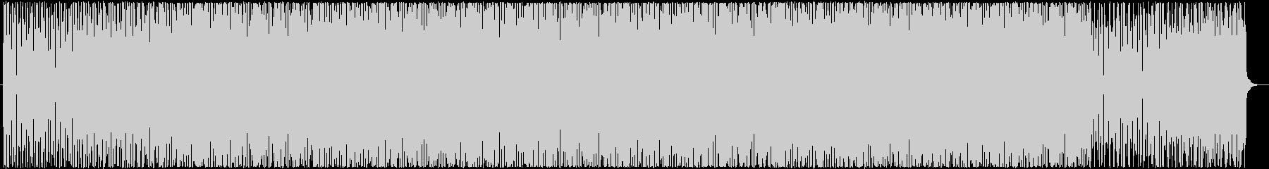ギターが個性的なアブストラクト系BGMの未再生の波形
