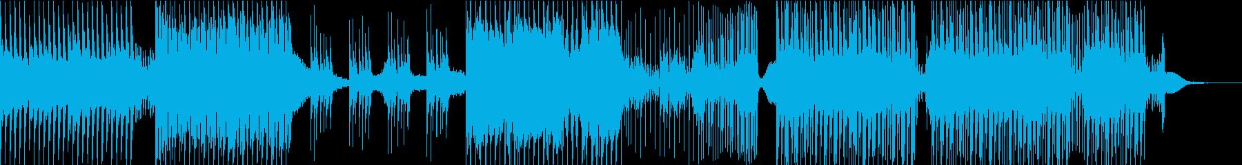 情緒あるフューチャーバウンスの再生済みの波形