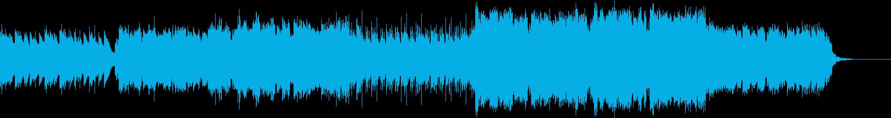 ケルト音楽/穏やか/小休止のシーンの再生済みの波形