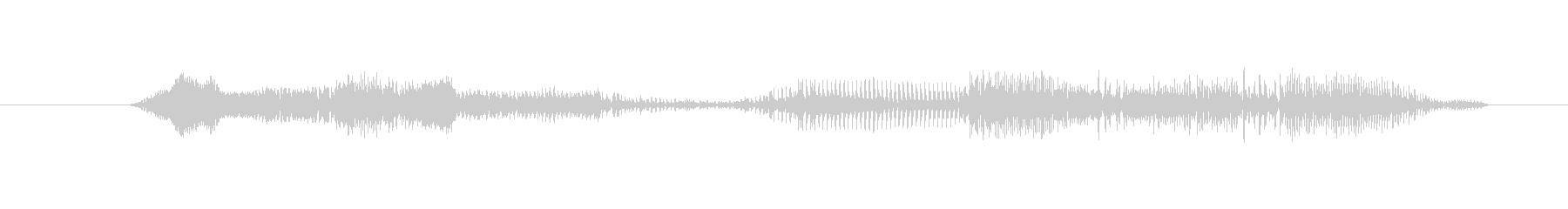 鳴き声 男性の悲鳴の深い痛み11の未再生の波形