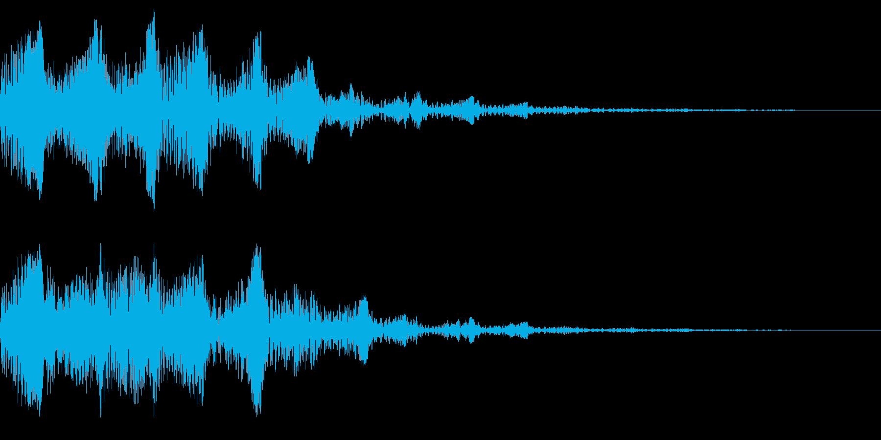 ピニョニョ(エフェクト_パワーダウン)の再生済みの波形