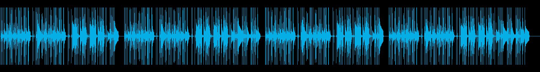 木琴で奏でるコミカルで不思議な曲の再生済みの波形