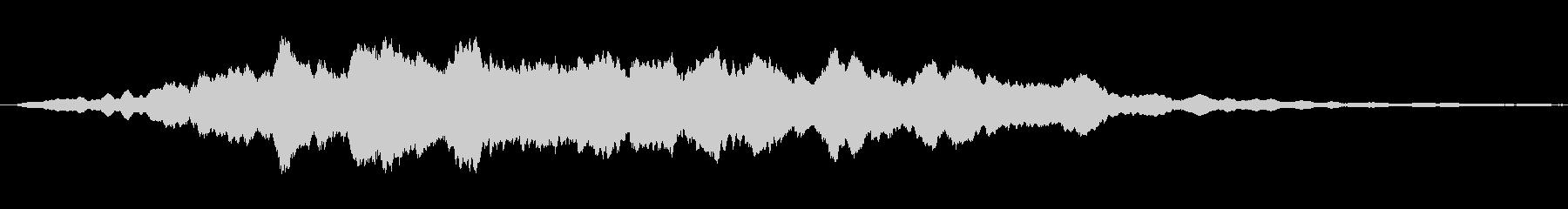 鋭い リンギングブリッター04の未再生の波形