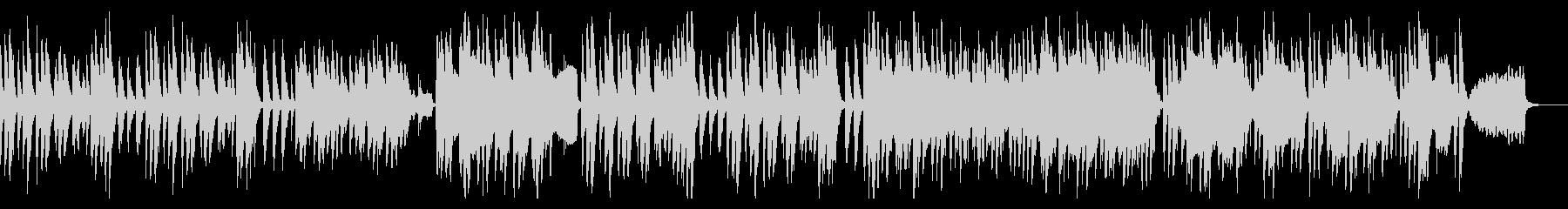 和やかであたたかな、ほのぼのとした日常曲の未再生の波形