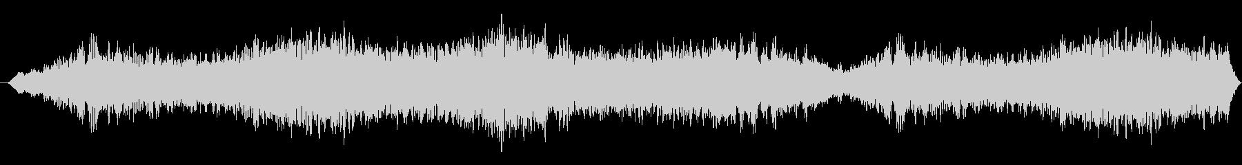 重さのある不穏なBGSの未再生の波形