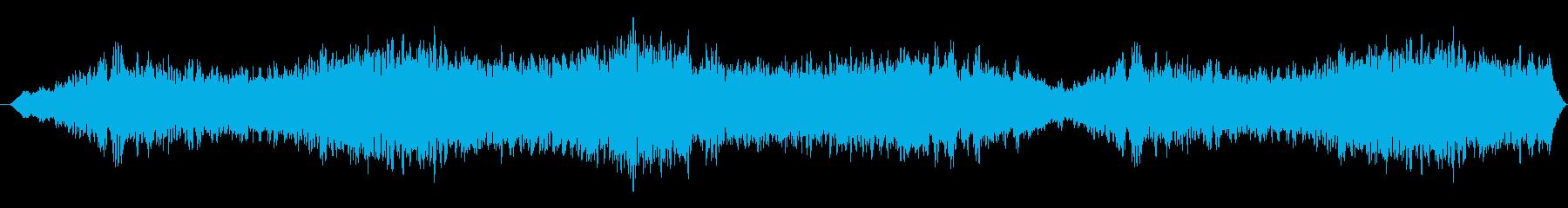 重さのある不穏なBGSの再生済みの波形