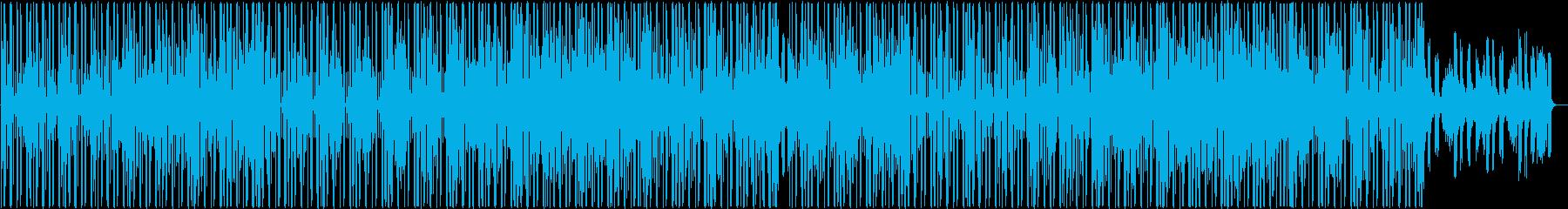 ゲーム ピアノ ヒップホップ 浮遊感の再生済みの波形