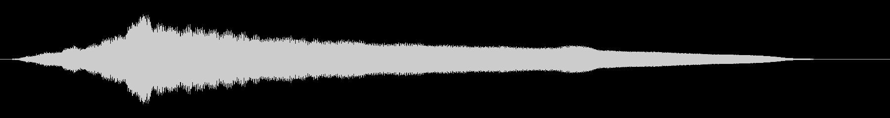 オールドライドシンボルボウCU 4の未再生の波形