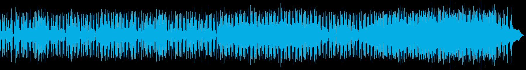 テクノCM映像用の曲企業VP都会で未来的の再生済みの波形