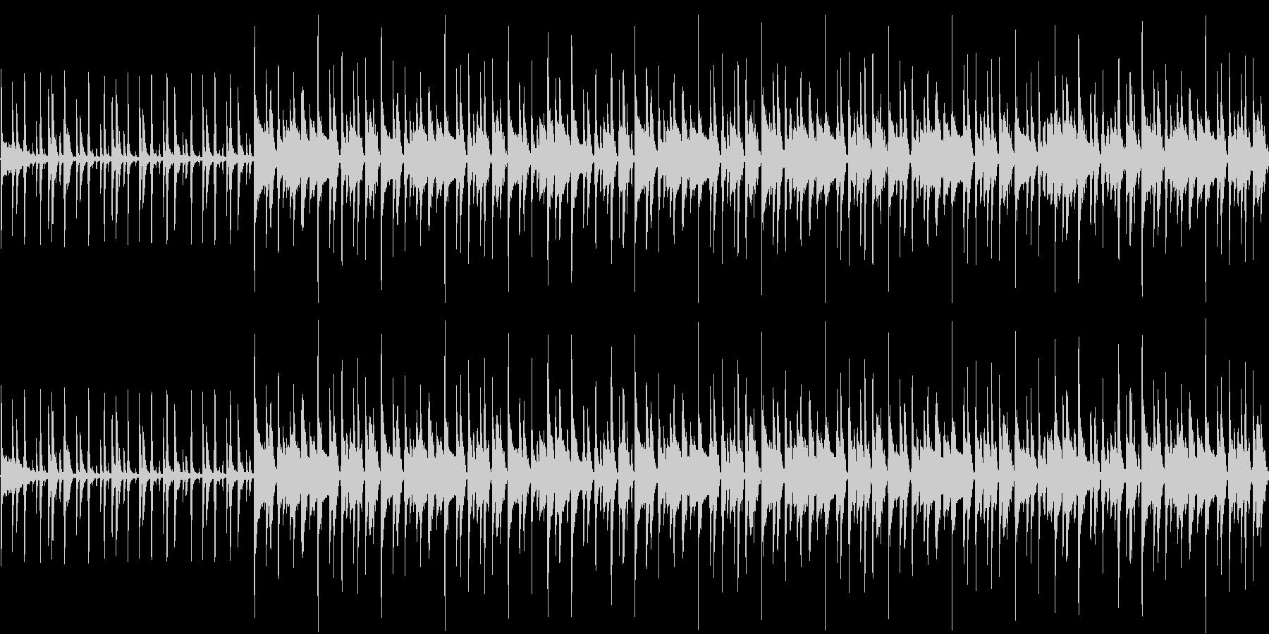 114bpmC-Maj、ギターリフが軽快の未再生の波形