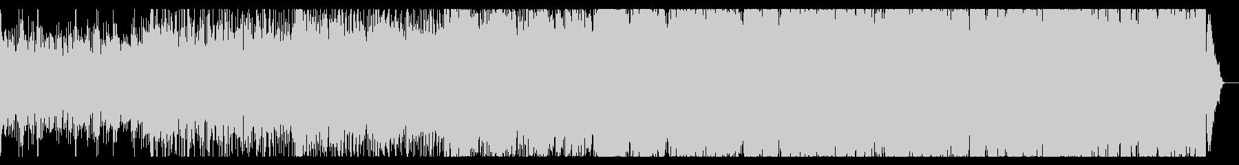 不思議な空間のアンビエントIDMの未再生の波形