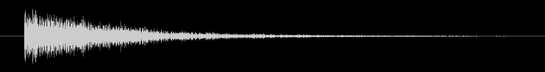 メタル ビッグインパクトラトル01の未再生の波形