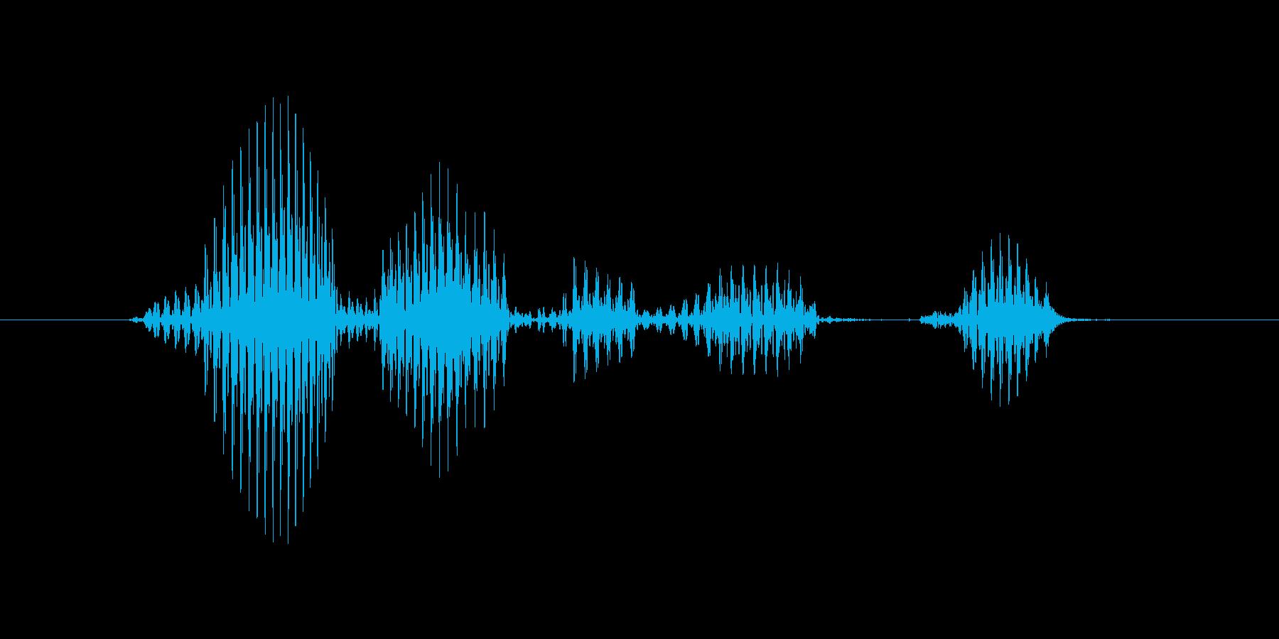 レベル6(ろく)の再生済みの波形