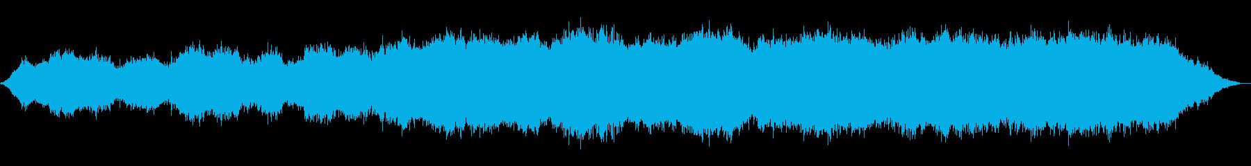 ドリーミーなアンビエントの再生済みの波形