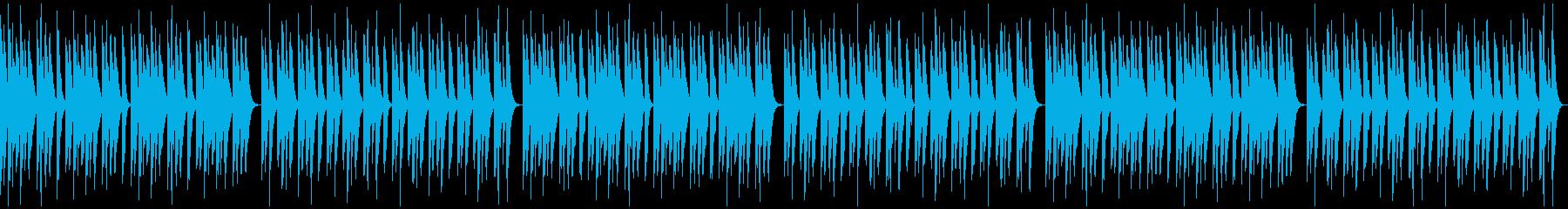 ほのぼの・日常・脱力・コミカル・マリンバの再生済みの波形