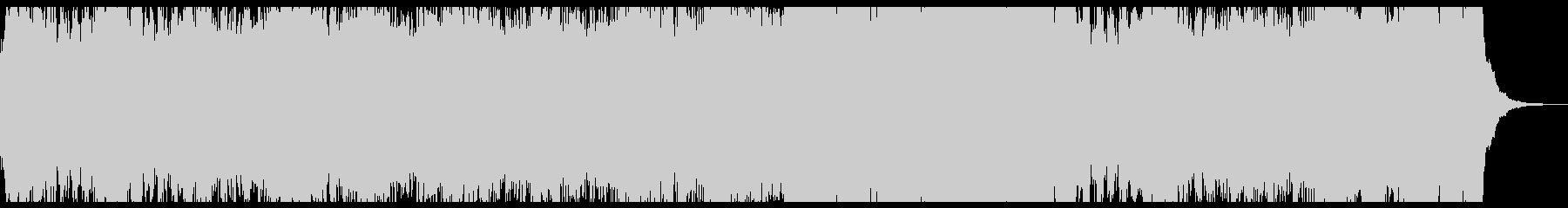 シンセリードによる宇宙遊泳アンビエントの未再生の波形