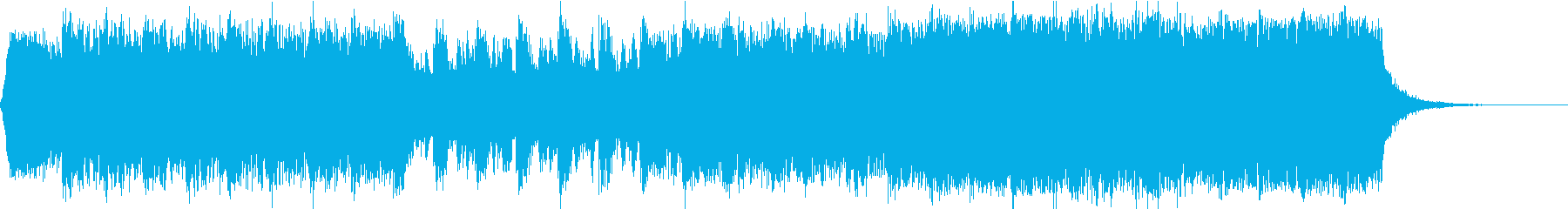 エピックヴォーカライズとクワイヤの再生済みの波形