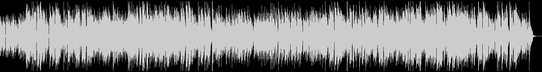 エレキギターによるほのぼのジャズの未再生の波形