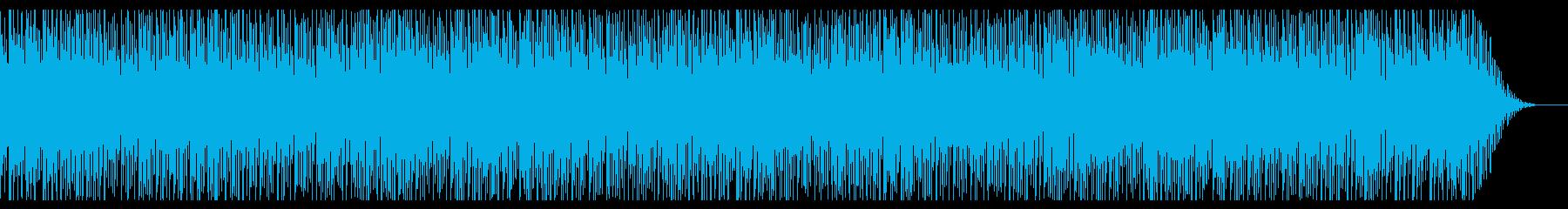 レトロゲーム風BGM(FM音源)の再生済みの波形