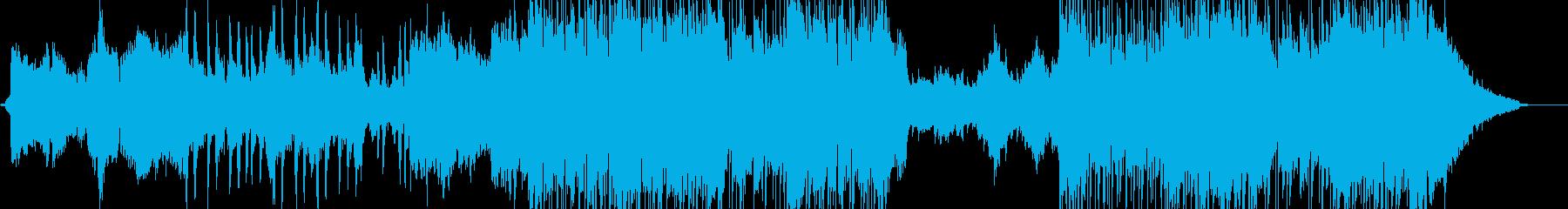 魔法の国のようなキラキラポップス 短尺の再生済みの波形