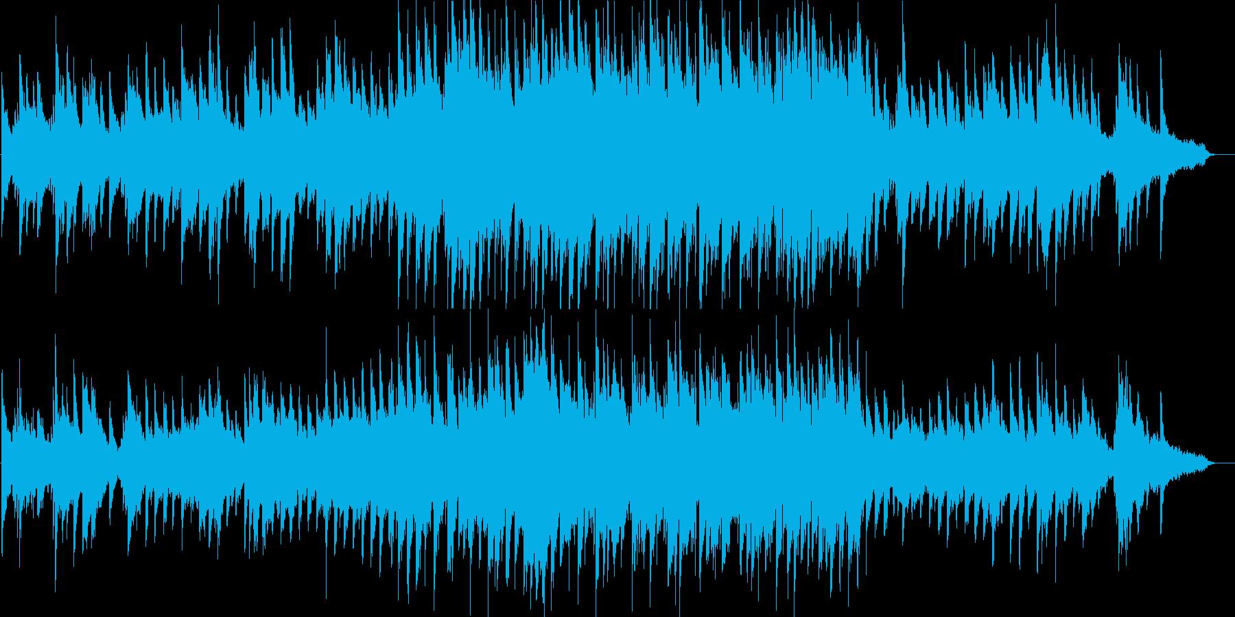 感動的・温かい・ピアノ・イベント・映像用の再生済みの波形