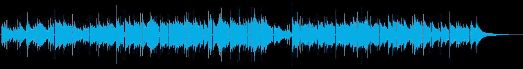 オルゴールの優しいメロディ 泣けるBGMの再生済みの波形