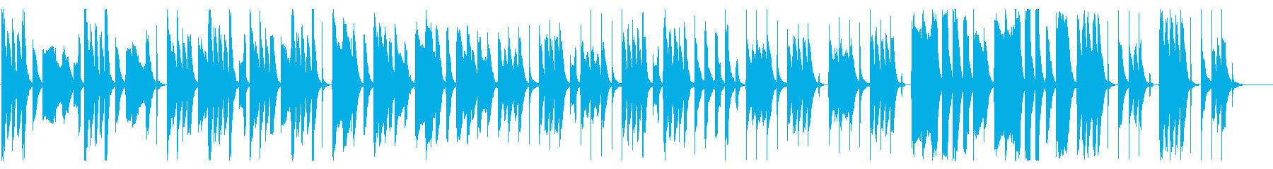 コミカルでおとぼけな、ほのぼの系Bの再生済みの波形