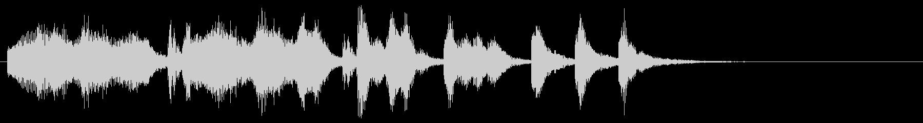 のほほんジングル029_のんびり+3の未再生の波形