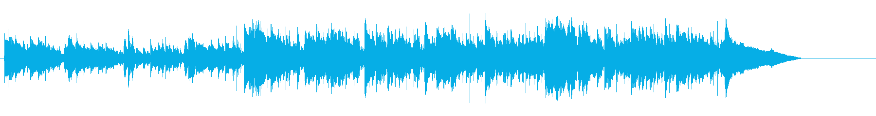 動画 センチメンタル 感情的 静か...の再生済みの波形